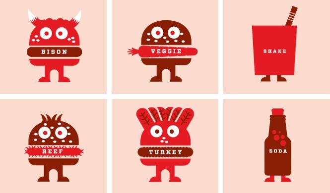 Roam Artisan Burgers by Rubber Design.
