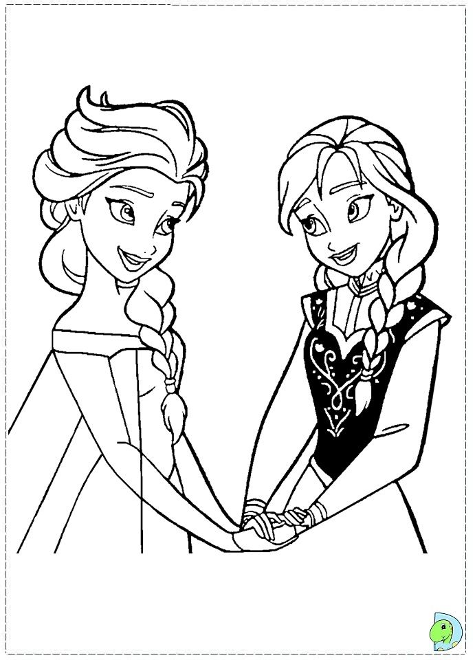 Coloring Pages Of Disney Frozen : Disney frozen coloring sheets pages