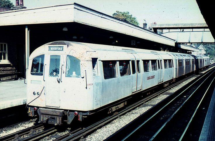 1960 Cravens tube stock, Woodford Station, September1970