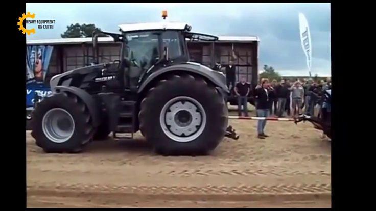 Tractor vs tractor tug of war, case tractor vs fendt tractor