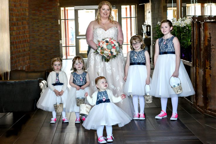 'All Star' Flower girls