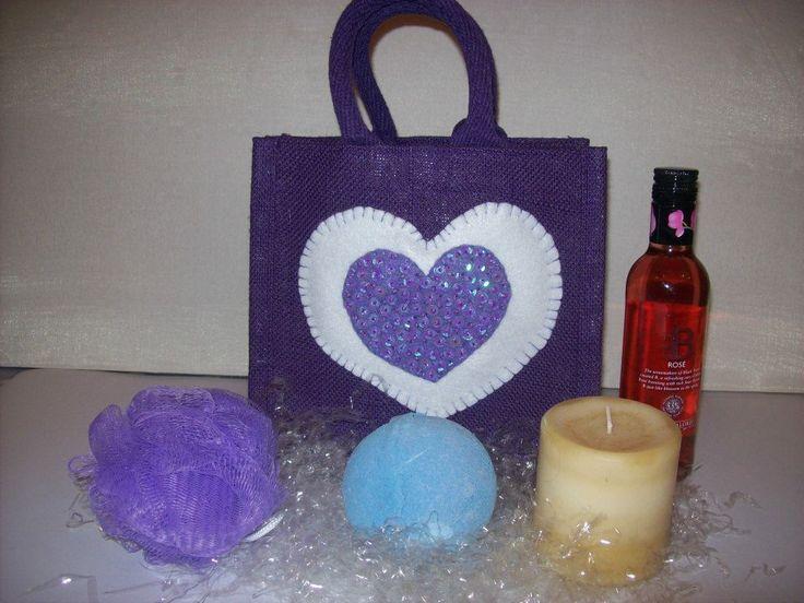 """""""PAMPER"""" Bag                                               Small Luxury Unique Bespoke Hand Embellished Jute Bag."""