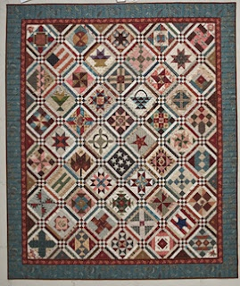 Barbara Brackman's Civil War Sampler.  The book will be shown to shop owners at fall 2012 quilt market. It will be in shops December 2012