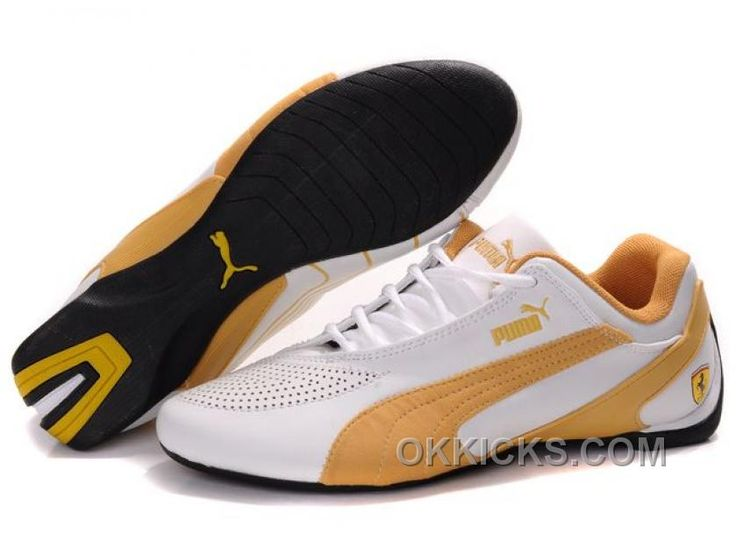 Now Buy Puma Fluxion Ii Ferrari White Gold Mens Shoes Lastest Save Up From  Outlet Store at Pumafenty.