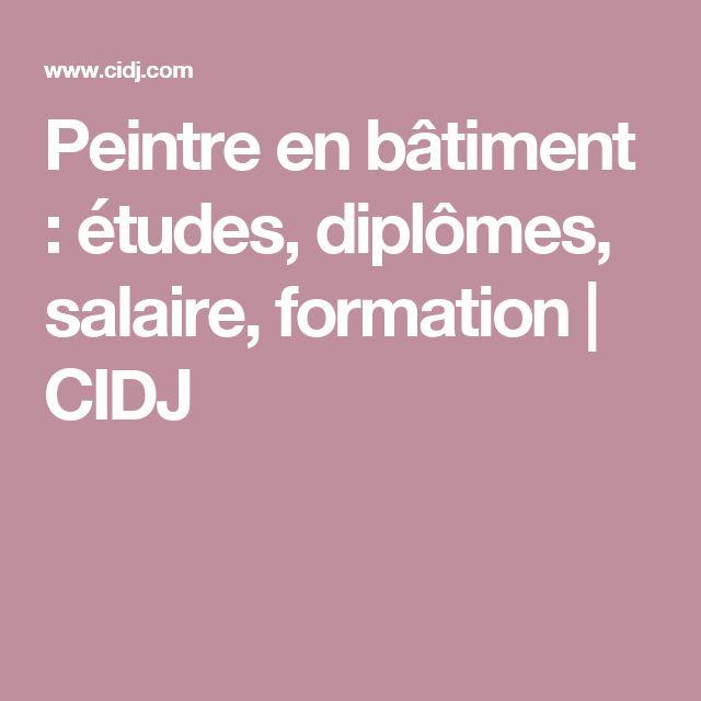 Peintre en bâtiment : études, diplômes, salaire, formation | CIDJ