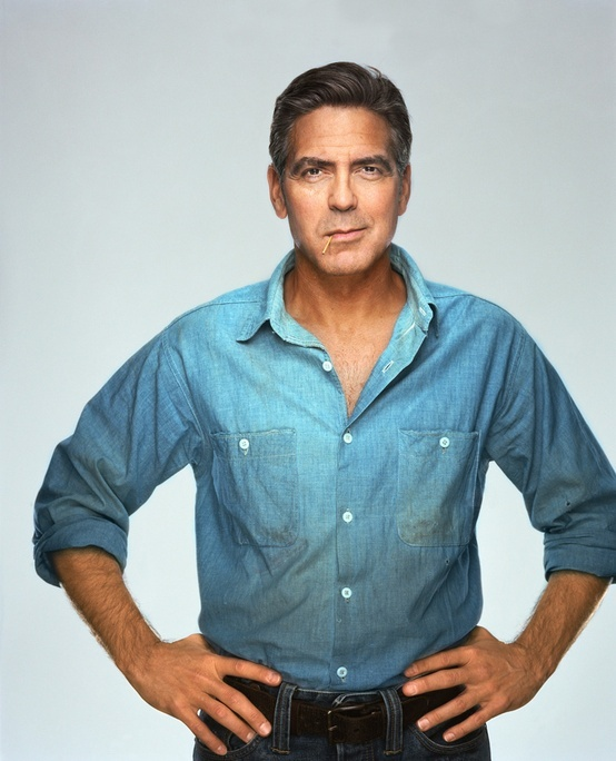 George Clooney will always be the most handsome man alive <3 <3 <3