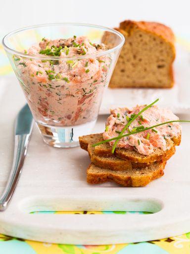 Recette rillettes de saumon