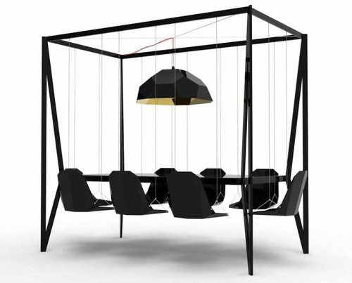 just great!: Idea, Swings Tables, Swings Chairs, Dinners Tables, House, Fun, Furniture, Design, Duffi London