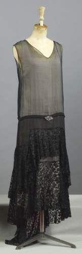 France. Robe Chanel 1928
