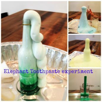 17 Best Ideas About Elephant Toothpaste Experiment On