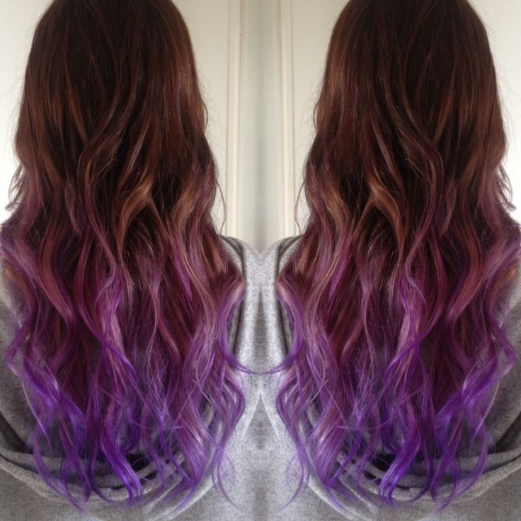 25+ best ideas about Brown To Purple Ombre on Pinterest ...