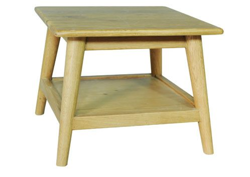 brondby, end table, oak