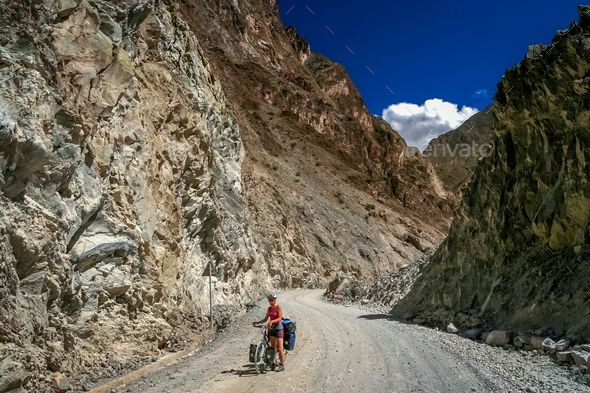 Cycling in Tibet - Stock Photo - Images Download here : https://photodune.net/item/cycling-in-tibet/20094418?s_rank=220&ref=Al-fatih