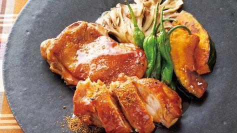 Makoさんの鶏もも肉を使った「パリパリ照り焼きチキン」のレシピページです。鶏肉と甘辛味の組み合わせで、ご飯が止まらぬおいしさ。野菜もたっぷりとれるバランスのよい一品。 材料: 鶏もも肉、まいたけ、かぼちゃ、ししとうがらし、A、七味とうがらし、塩、サラダ油