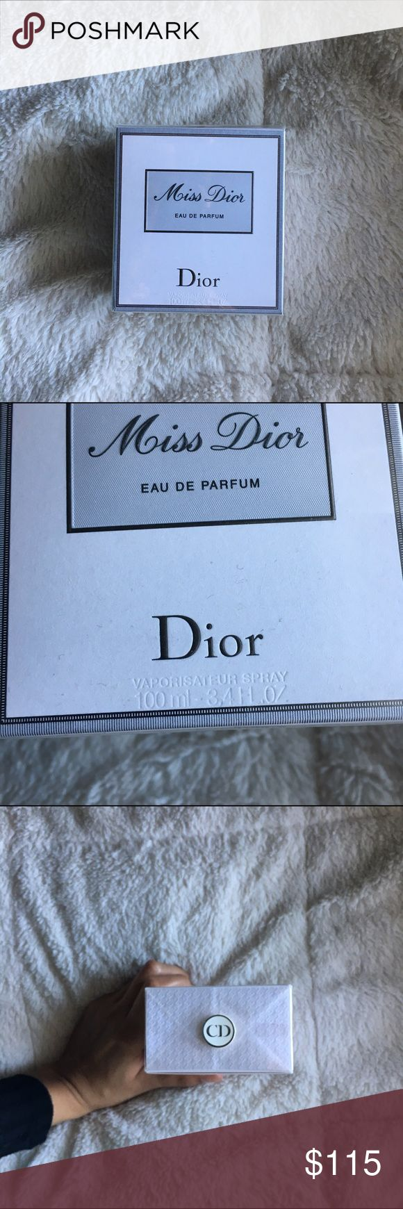 Miss Dior Eau De Parfum This is a Brand New in Box Miss Dior perfume. It is 3.4oz. It retails for $124, so please no offers. Price is firm!! ☺️ Dior Other