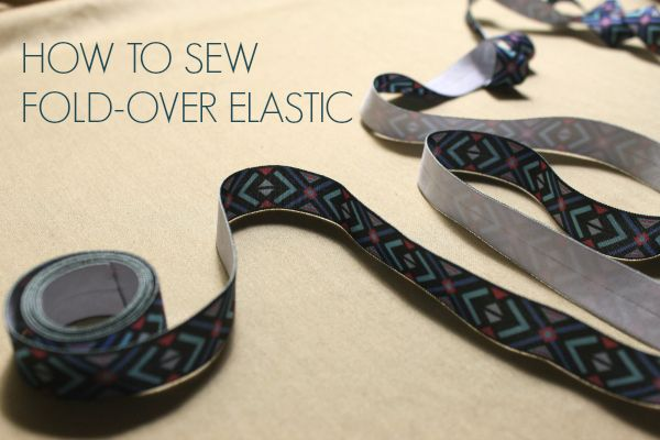 Make a bold statement with fold-over elastic! Learn how to sew fold-over elastic to bind all your knit garments with these must-know tips.