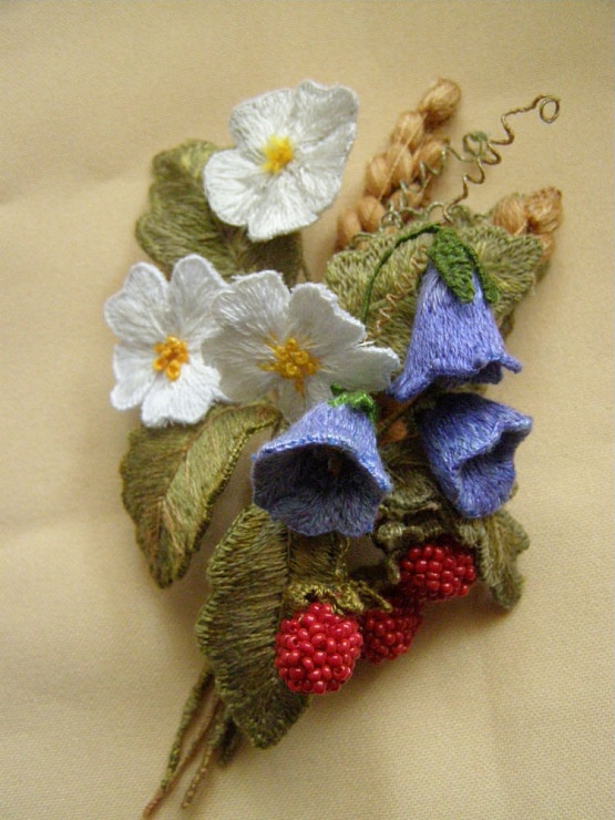 Great embellishment for a felted bag.