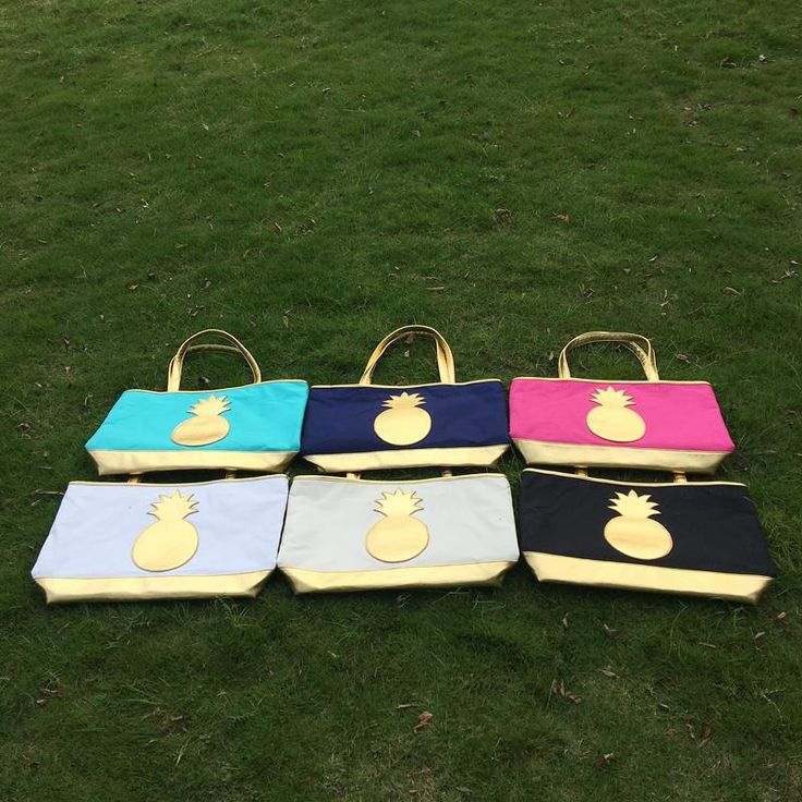 Wholesale Blanks Pineapple Canvas Tote Bag Large Shopping Bag With Gold Straps To Us Dom103514 Discount Handbags Best Handbags From Domildiscountshop, $984.93| Dhgate.Com