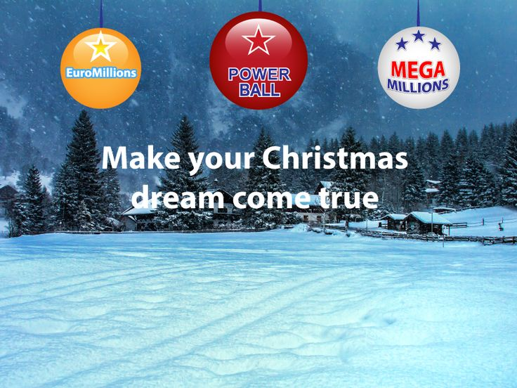 Lucky Christmas! Play your favorite lottery now at 365lottoworld.com and make your christmas dream come true. We love Christmas time.