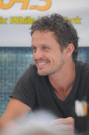"David Lyons, ""Sea Patrol"" He plays the intense/creepy type so well, it's so nice to see him smile!"
