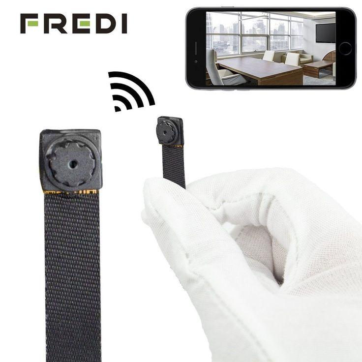 FREDI HD Mini Super Small Portable Hidden Spy Camera P2P Wireless WiFi Digita...