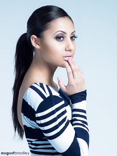 "Portrait of Francia Raisa, co-star of ""The Secret Life of the American Teenager"" on ABC Family. Photo: August Bradley (www.augustbradley.com)"