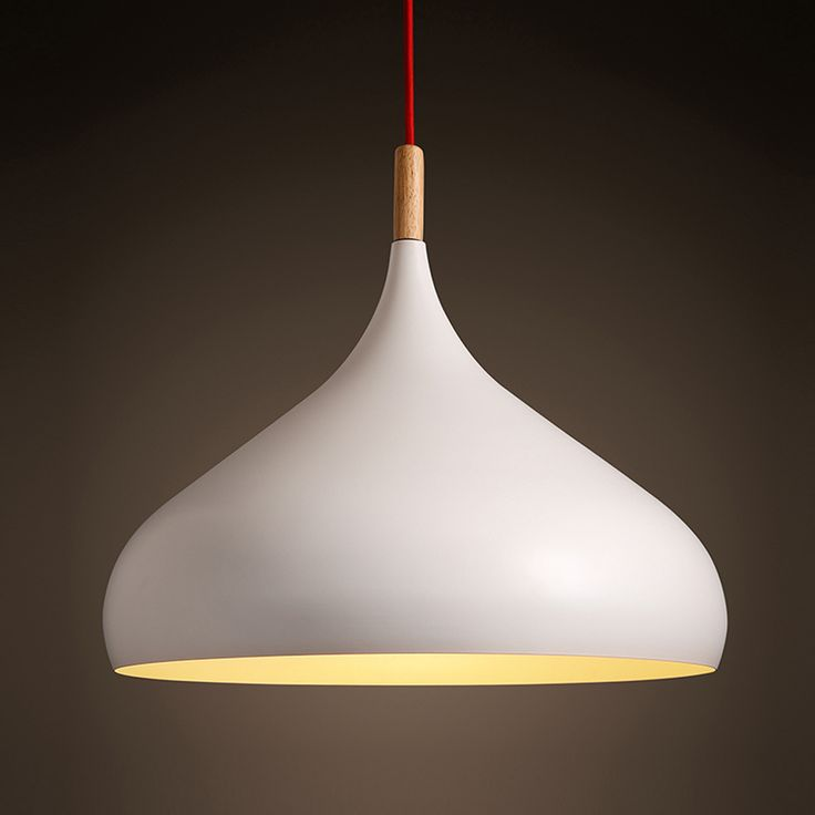 Japanese Pendant Lights Solid Brief White Nordic Light Iron Decorative Pendant Light Cafe Bar Living Room Hanging Lamp