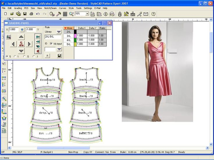 Image result for valentina pattern making software