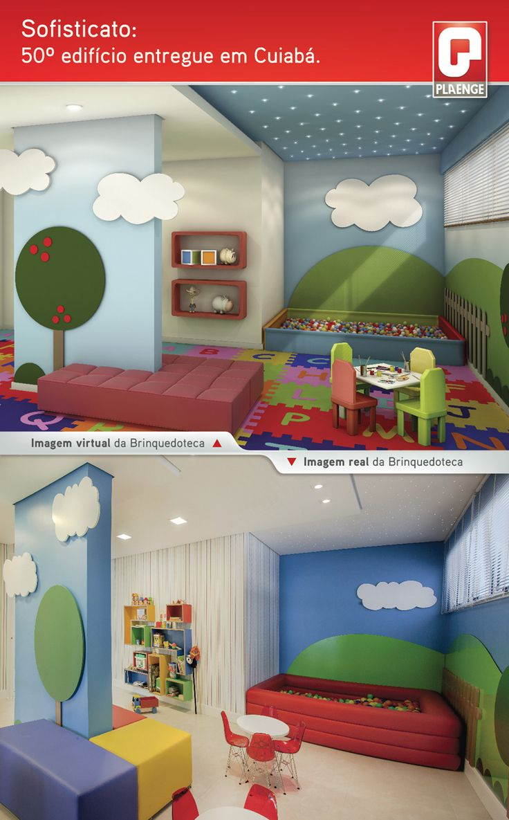 Brinquedoteca / Terreo Decorado / Kids / Playroom / Interior Design / Bohrer…