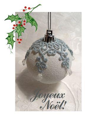 Merry Christmas! Pattern available at http://leblogdefrivole.blogspot.com/p/patterns.html