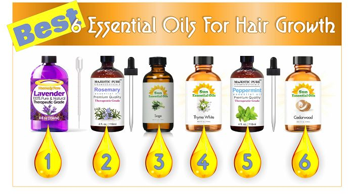 Best 6 Essential Oils For Hair Growth  Read the article here - http://www.blackhairinformation.com/general-articles/list-posts/best-6-essential-oils-hair-growth/