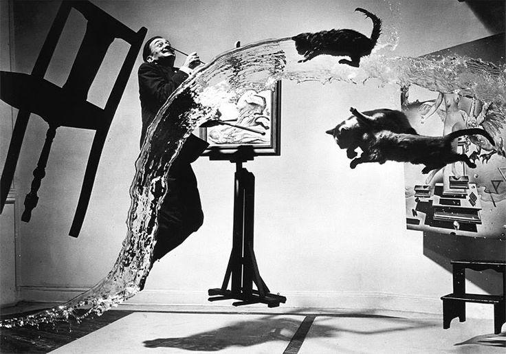 Philippe Halsman's Iconic Jump Portraits | Brain Pickings