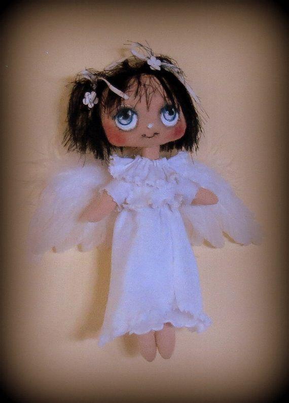 Angel cloth doll