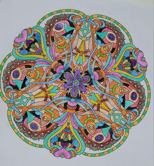 Angie Grace's book called Balance, colored with pencils by Vicki Patterson.