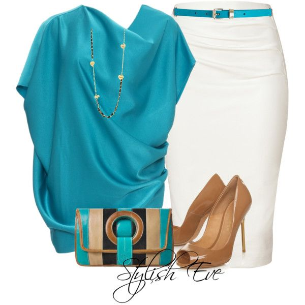 I just love the color of the blouse