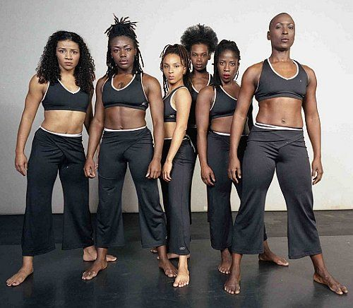 Diversity, Dancers, Urban Bush Women