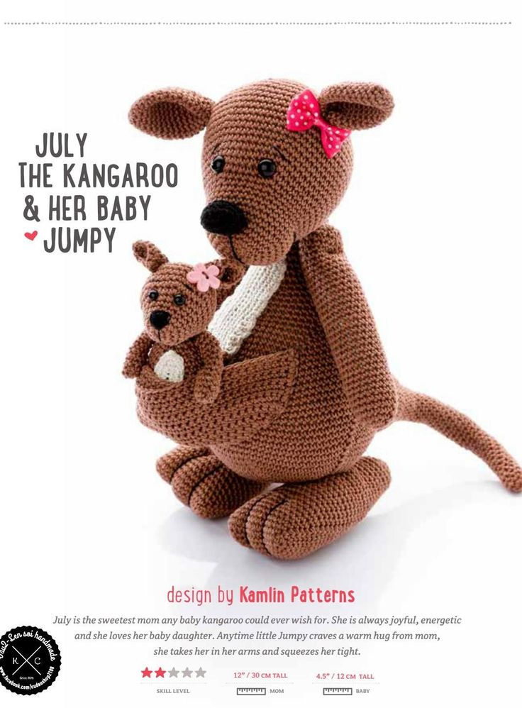 Amigurumi Parent And Baby Animals Free Download : 17 Best images about Crafts: Crochet Amigurumi on ...