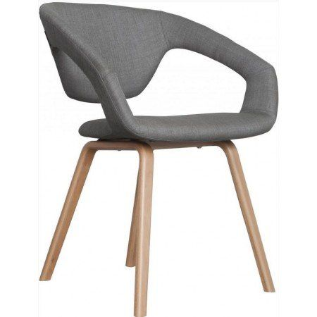 flex back stoel / chair van Zuiver  http://www.designwonen.com/nl/zuiver-flex-back-stoel-naturel-lichtgrijs.html