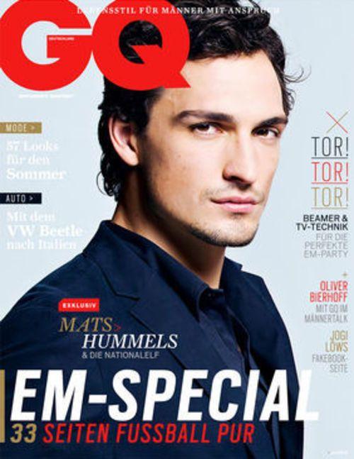 Mats Hummels-GQ cover 2014