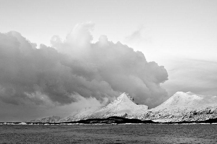 Storm is coming. Helgeland - Norway