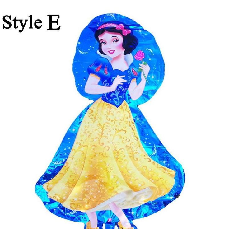 [Visit to Buy] 36 inches Princess Foil Balloons Snow White Air Ballons Children Toys Birthday Wedding Decoration Party Supplies #Advertisement