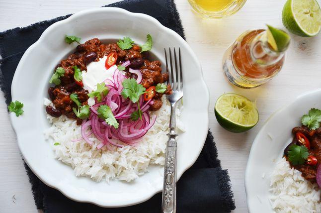 Kublanka vaří doma - Chilli con carne