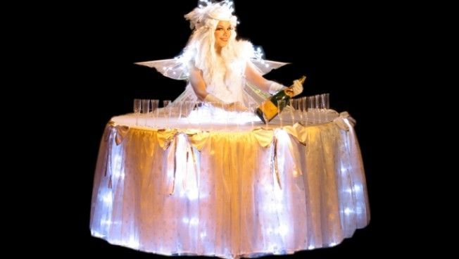18 best corporate entertainment ideas images by warble wedding living tables statues make a unique meet and greet centre piece at any corporate or m4hsunfo