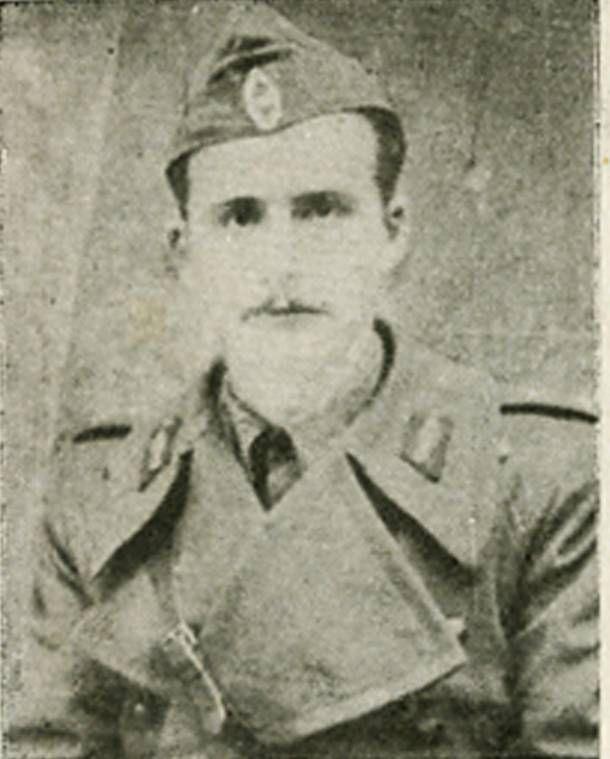 ο καπετάνιος της 13ης μεραρχίας Θεόδωρος Καλλίνος (Αμάρμπεης)