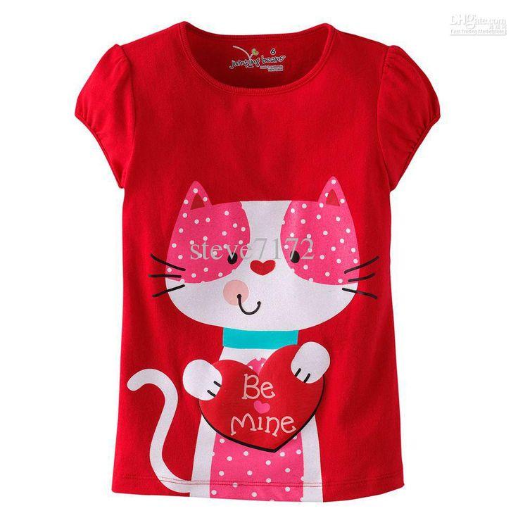 Saltar las niñas judías 'camisetas blusas de algodón muchachos camisetas t-shirts parte superior de los puentes principales bebé camisetas LM165 US $4.21 - 4.82 / Piece, 36 Piece / Lot en DHgate.com