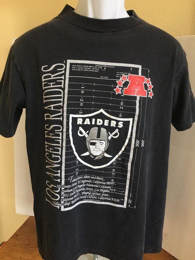 Vintage Los Angeles LA Raiders T-Shirt - M #GraphicTee