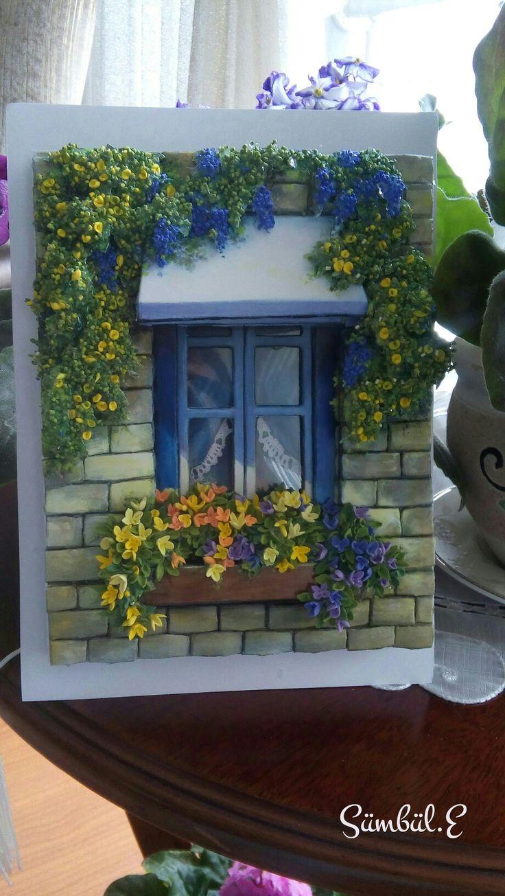 My window and papertole-SÜMBÜL ELDEK