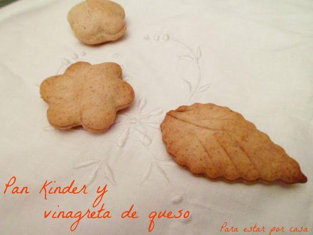 Para estar por casa: Pan kinder y vinagreta de queso #receta #pan #kinder #pasoapaso #panrelleno