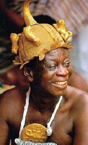Africa | Ashanti gold. Ghana.