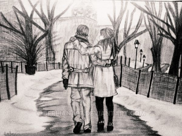 Romantic-Couple-Pencil-Sketches-and-Drawings-41.jpg (600×450)